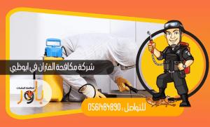 شركة مكافحة الفئران في ابو ظبي