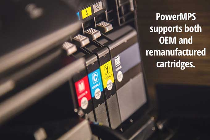 OEM and Remanufactured print cartridges