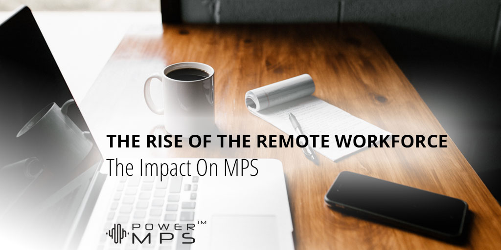 The Rise Of The Remote Work-From-Home Workforce