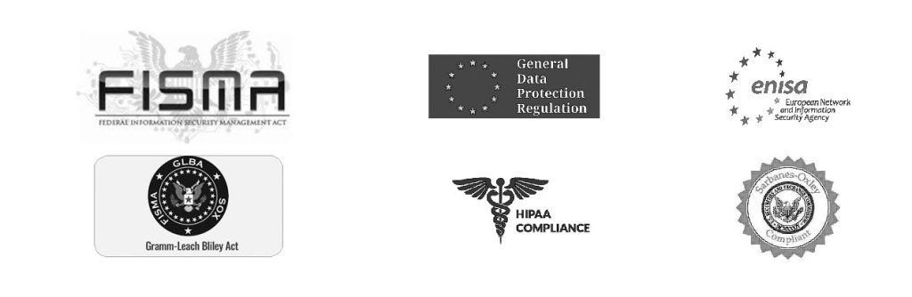 DCA compliant with - GDPR, FISA, HIPPA, etc.)