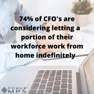 Companies considering letting employees work from home full-time