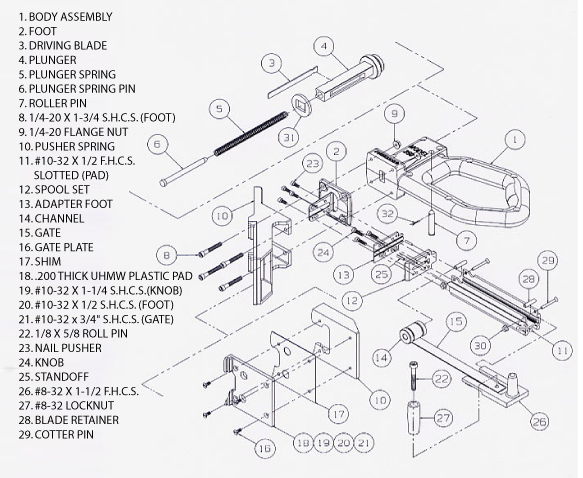 250 Parts and Schematic