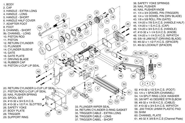 50P Parts & Schematic