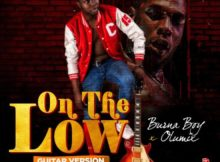 Burna Boy & Olumix – On The Low (Guitar Cover)