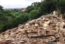 Three-storey building, prison wall collapse in Onitsha