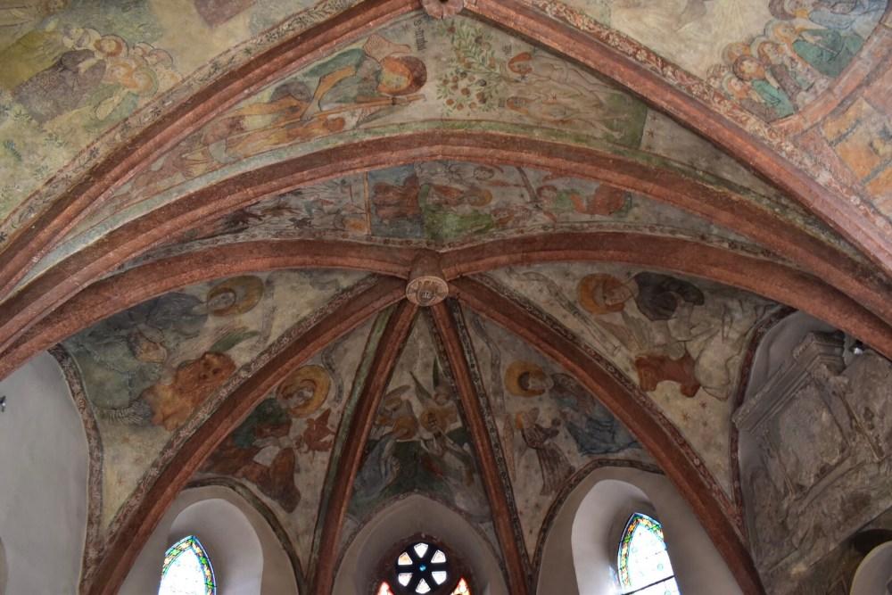 Freskomalerei aus dem 15. Jahrhundert