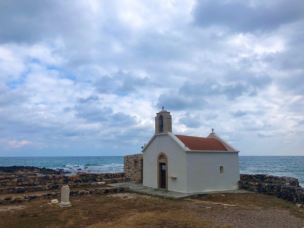 See Kapelle direkt am Meer