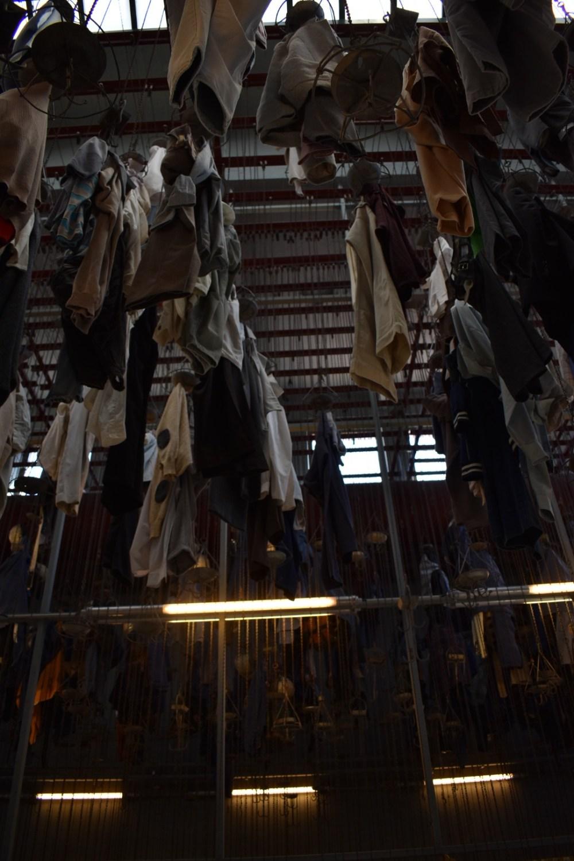 Garderobe des Bergwerkes Schacht Wendel