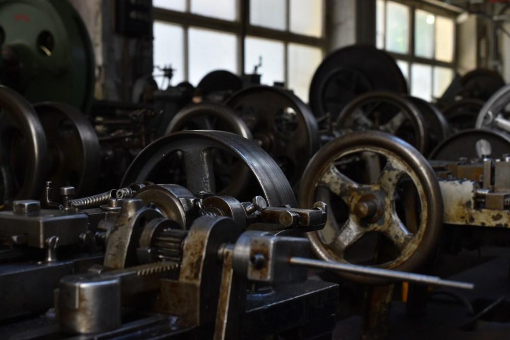Maschine zur Herstellung des Schmucks