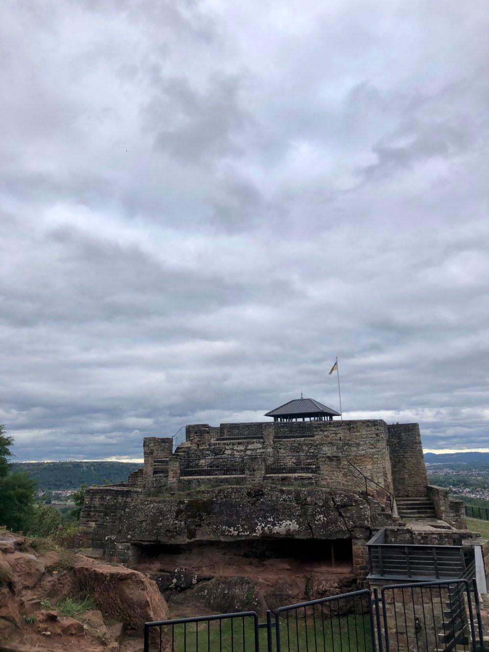 Burg aus einem anderem Blickwinkel