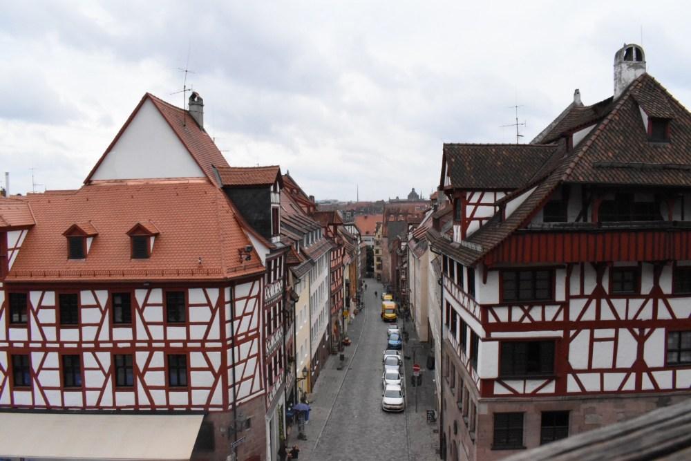 Blick auf die Albrecht Dürer Straße