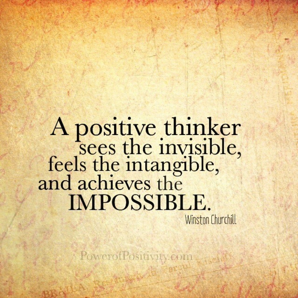 5 Inner Characteristics Of A Positive Thinker
