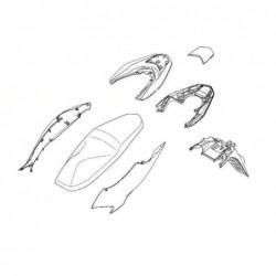 Rear Grab Rail Cover Honda PCX 150 84151-K97-T00