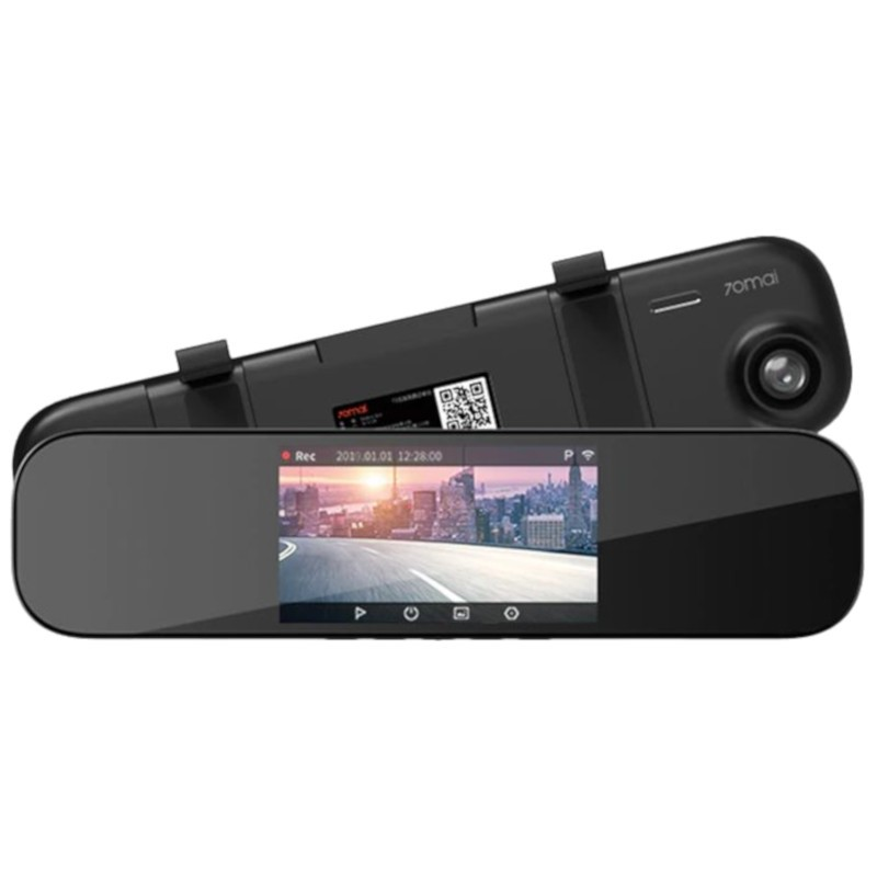 Original Xiaomi 70Mai Rearview Mirror Dash Cam D04 WIFI 1600P 140FOV Night Vision 24H Parking 70Mai Mirror Car DVR