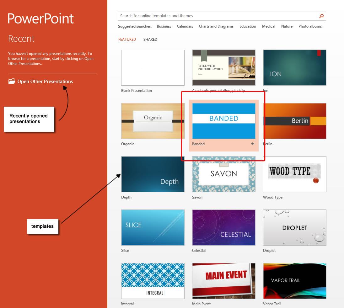 microsoft power point themes