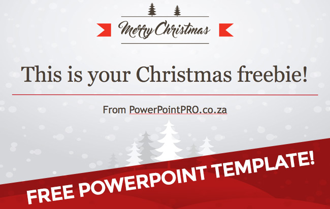Powerpoint template christmas freebie powerpointpro toneelgroepblik Images