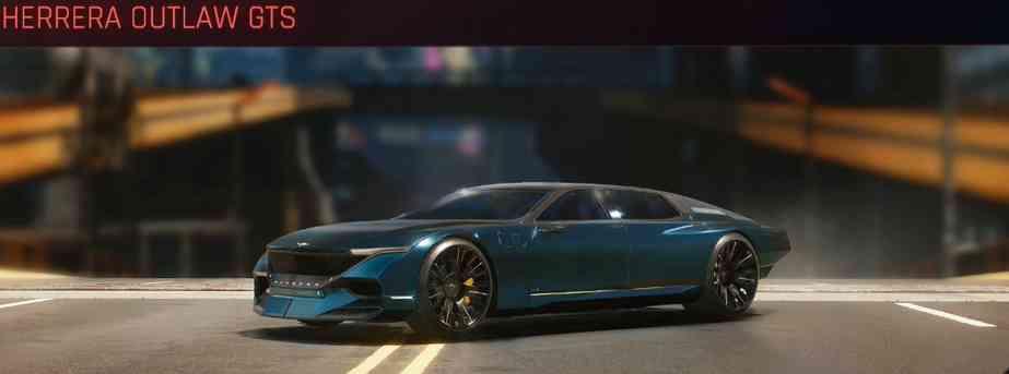 Cyberpunk 2077 Vehicle Guide cyberpunk 2077 herrera outlaw gts