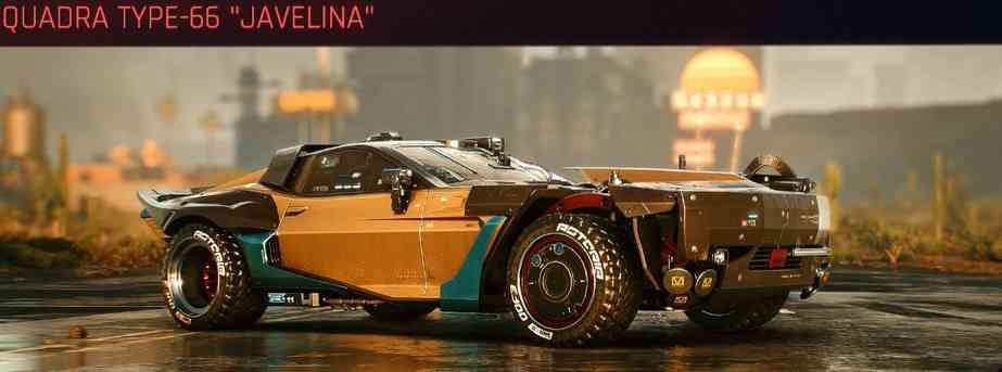 Cyberpunk 2077 Vehicle Guide cyberpunk 2077 quadra type 66 javelina
