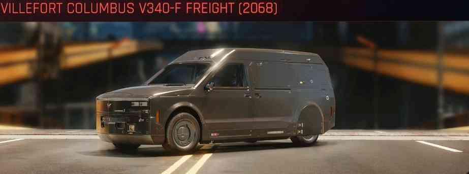 Cyberpunk 2077 Vehicle Guide