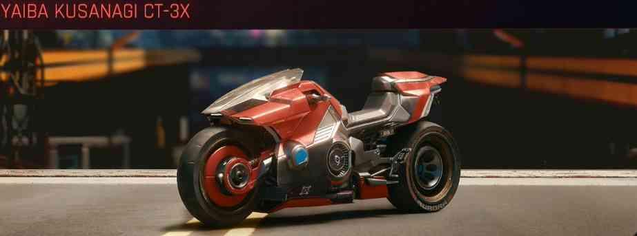 Cyberpunk 2077 Vehicle Guide cyberpunk 2077 yaiba kusanagi ct