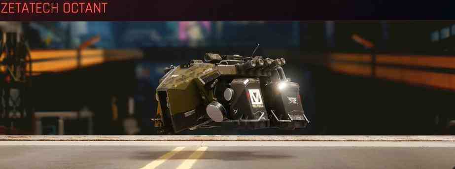 Cyberpunk 2077 Vehicle Guide cyberpunk 2077 zetatech octant