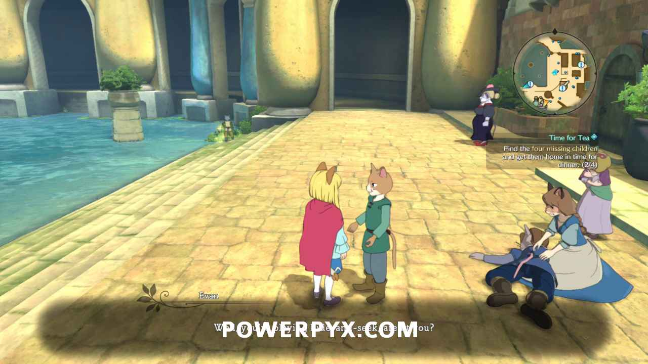 Ni No Kuni 2 Side Quest 146 Time For Tea Side Quest Walkthrough