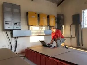 PV Testing and Battery Inverter Programming
