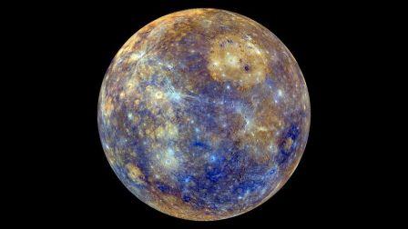 Mercurio, en una imagen de archivo. Fuente: NASA