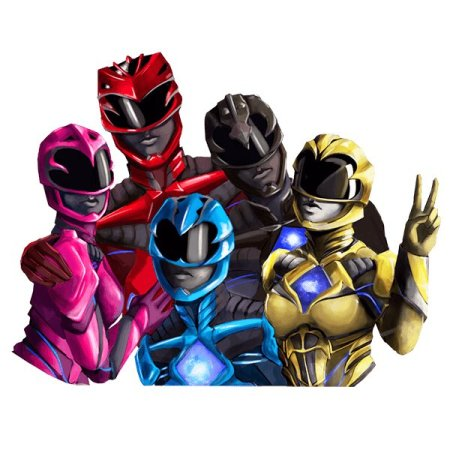 The official power rangers sticker share app has been released