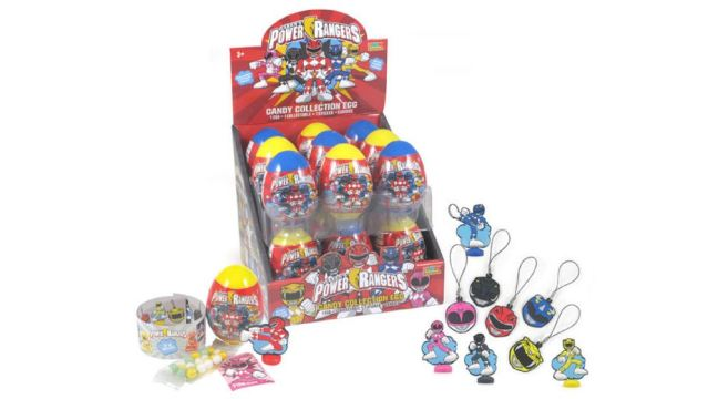 Power Rangers Candy Eggs Released