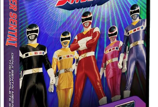 Megaranger DVD Announced