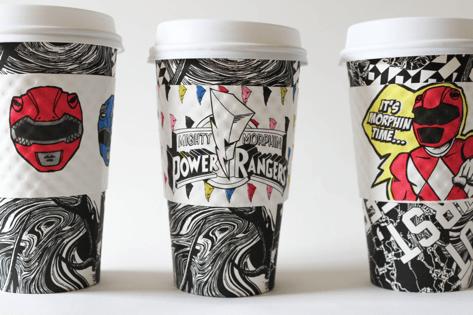 Power Rangers Coffee Announced