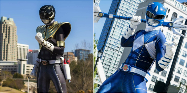 Official Power Rangers Cosplay Coming Soon