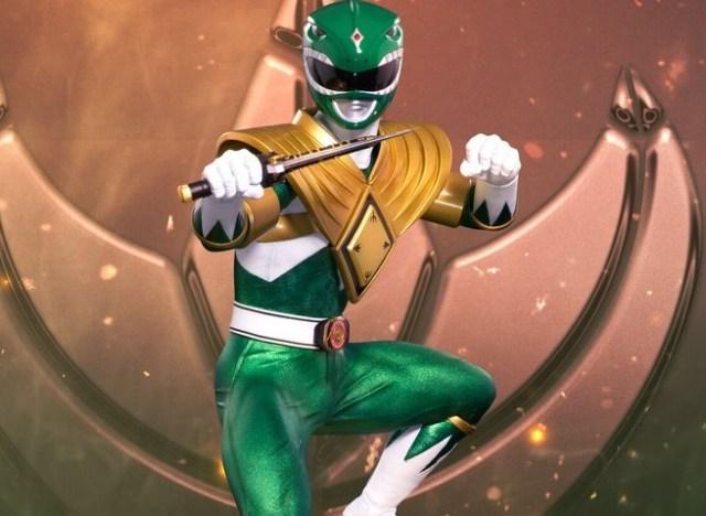 New Green Ranger Statue Revealed