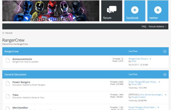 RangerCrew.com Forums To Close