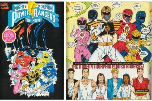 BOOM! Studios To Remaster Classic Power Rangers Comics