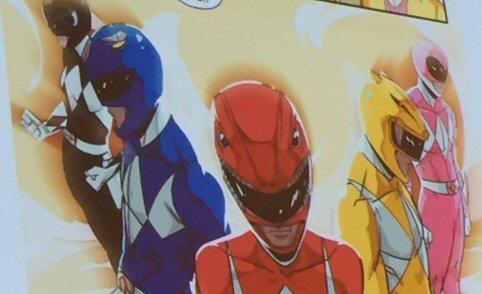BOOM! Studios' Original Power Rangers Revealed