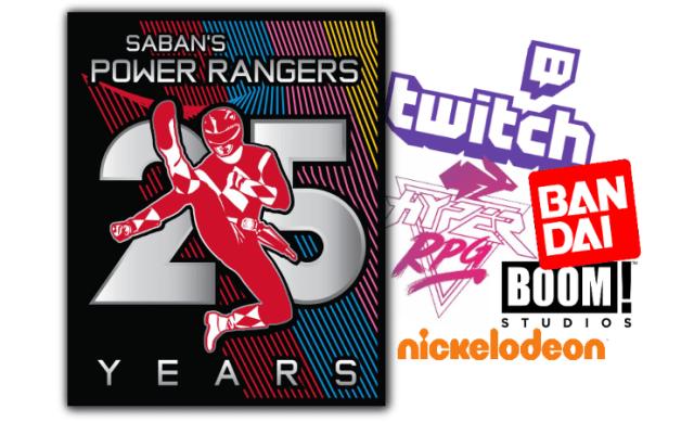 Power Rangers 25th Anniversary Logo Revealed