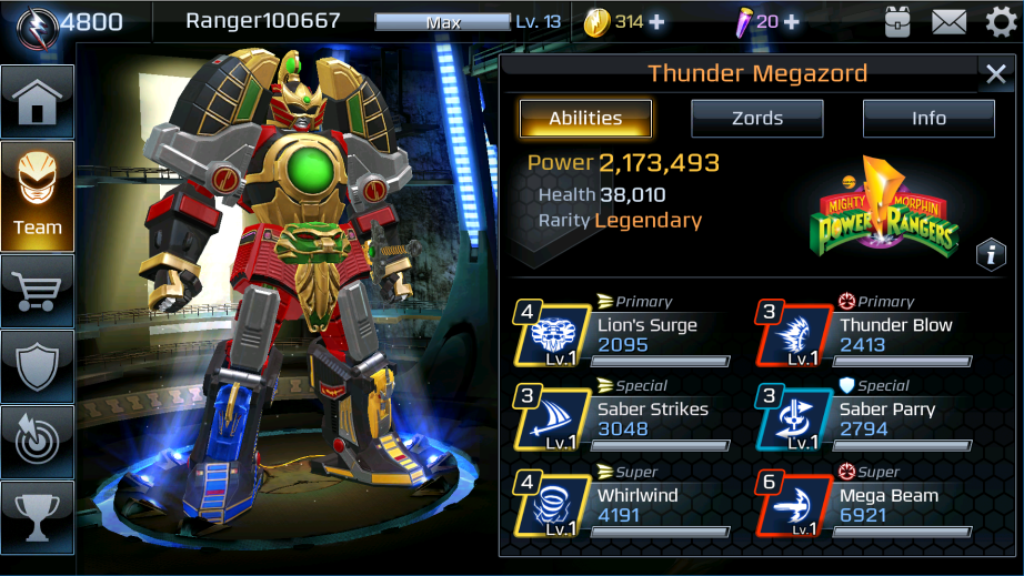 Legacy wars megazord mode announced power rangers now megazord combat details thecheapjerseys Image collections