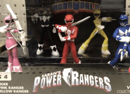 Power Rangers Hero World Figures Released