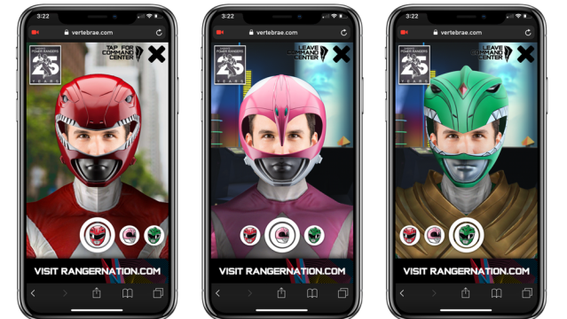 Power Rangers Augmented Reality Ads Launched