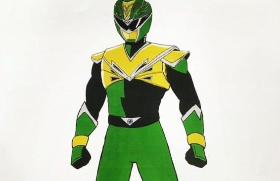 Power Rangers Hyperforce Debuts Green Ranger