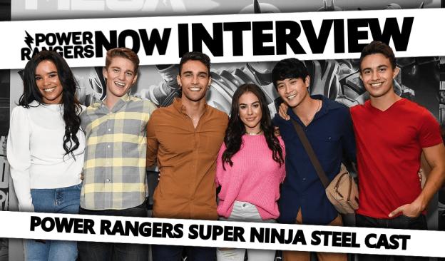 Kids Choice Awards Interview: Power Rangers Ninja Steel Cast
