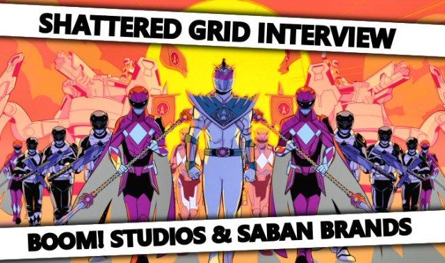 Shattered Grid Interview: BOOM! Studios and Saban Brands