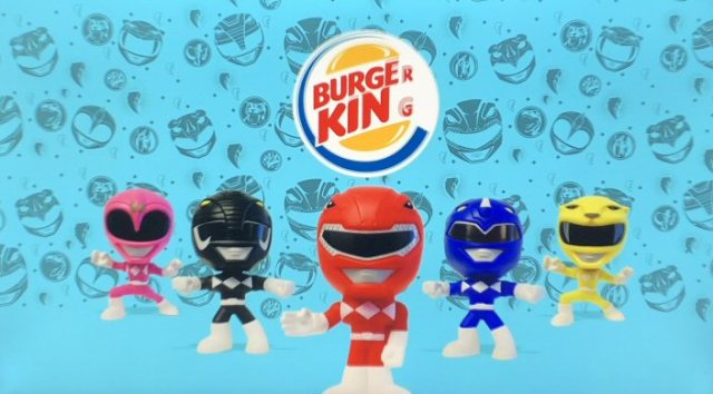 Power Rangers Partners With Burger King