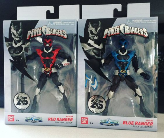 Psycho Ranger Legacy Figures Released