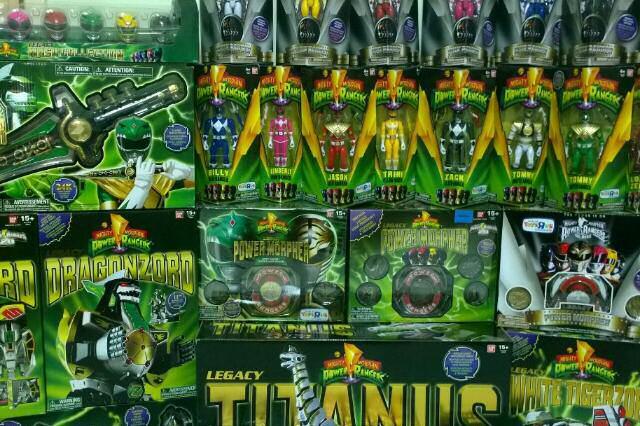 Bandai Re-Releasing Power Rangers Legacy Toys