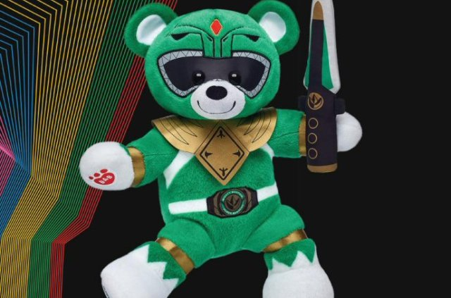 Mighty Morphin Green Ranger Build-A-Bear Revealed