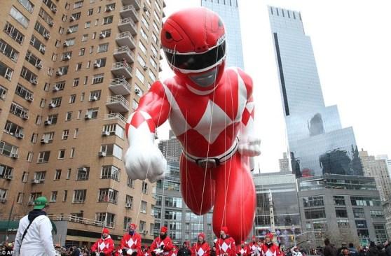 Power Rangers Returns To Macy's Thanksgiving Parade