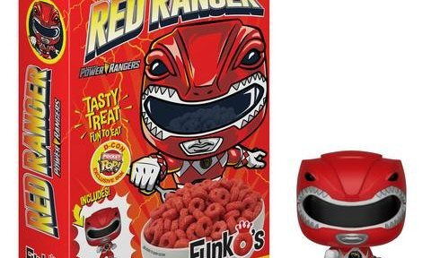 Mighty Morphin Power Rangers Cereal Announced